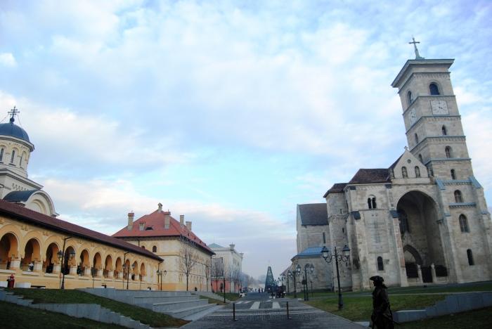 in cetatea alba iulia